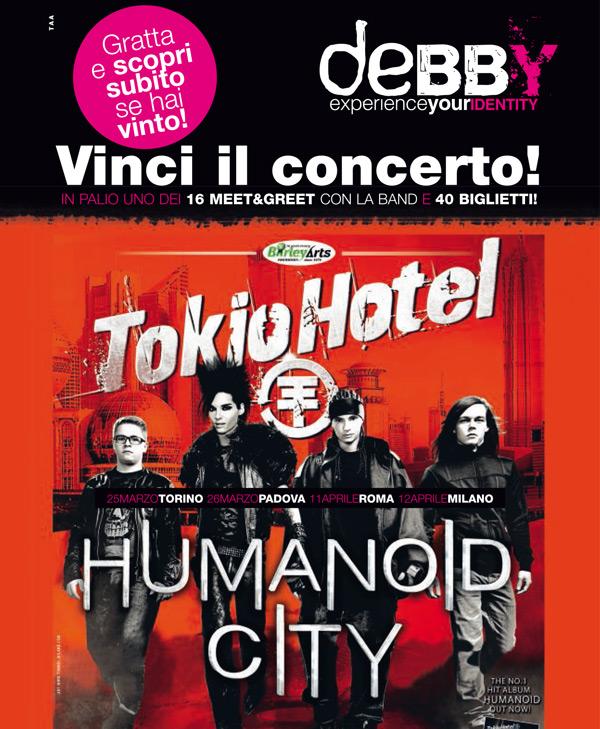 Debby Joydis Tokio Hotel