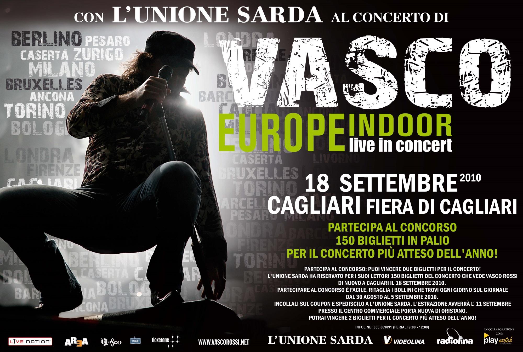 Unione Sarda Vasco Rossi Joydis