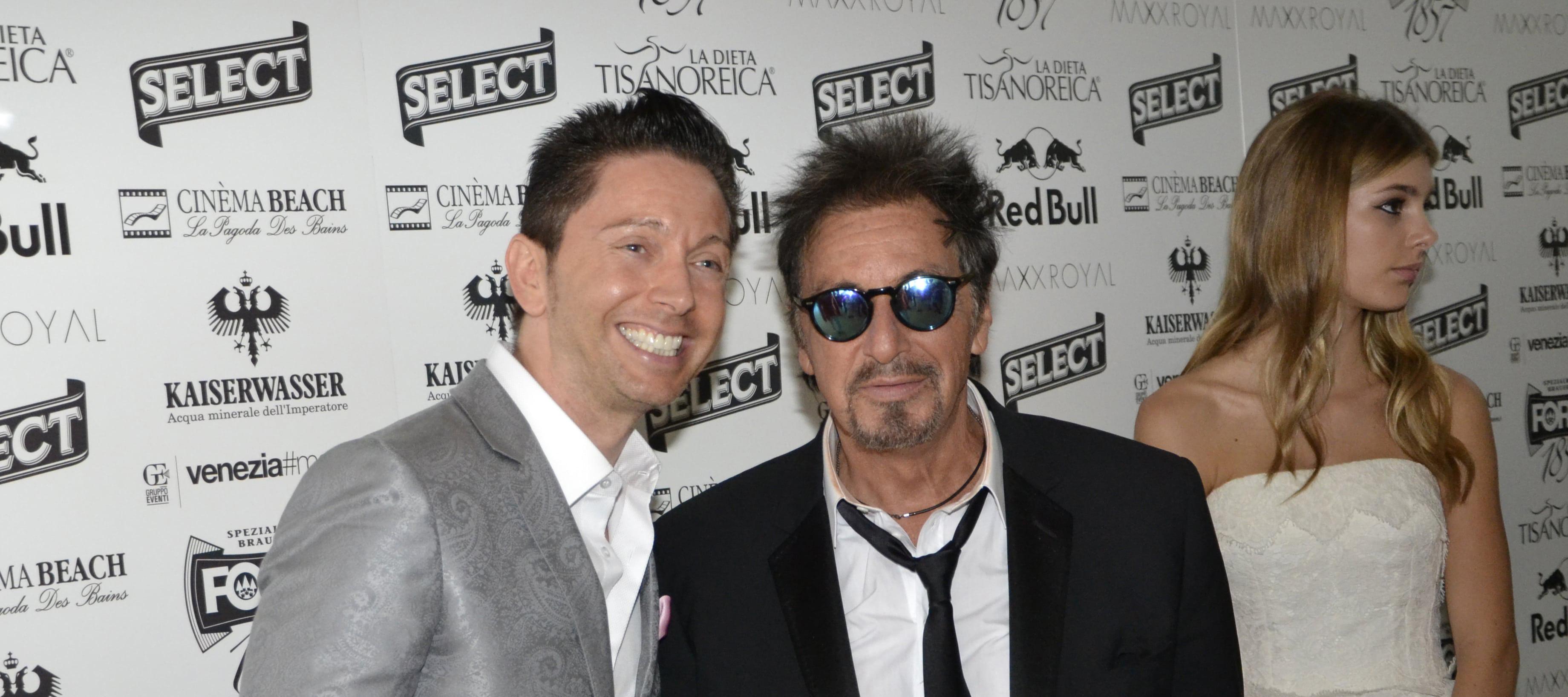 Al Pacino e Gianluca Mech - Festival del Cinema di Venezia